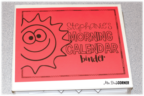 Morning Adapted Work Binder morning calendar binder is interactive, differentiated, and top rated to help all of your students succeed and learn important information.