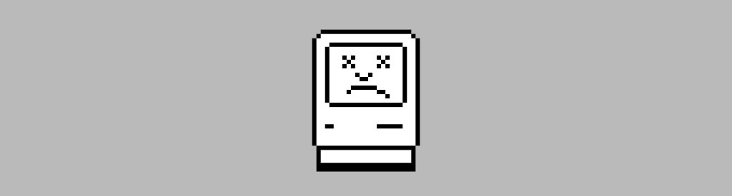 crashed mac icon