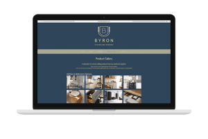 Byron Burford Kitchens Website Design