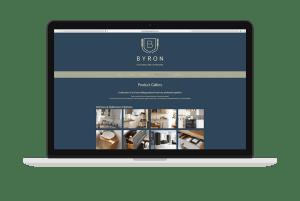 Byron Burford Kitchens Website Design