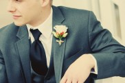 DIY Wedding Flowers boutonniere