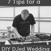 DIY DJed Wedding | Mrs. Fancee