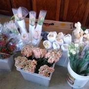 Flowers pre-preparation