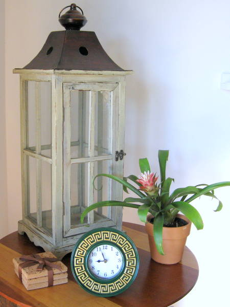 Greek key clock makeover | Mrs. Fancee