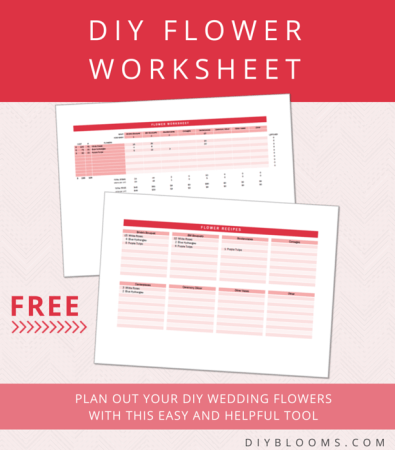 DIY Flowers Worksheet