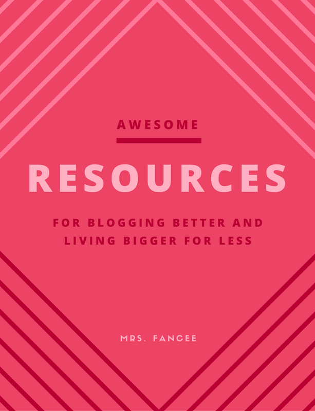 Resources for Living Bigger and Blogging Better