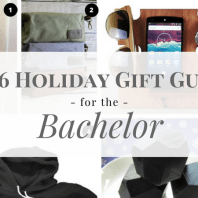 Find the perfect gift for the bachelor man in your life with this 2016 holiday gift guide for the bachelor guy | Mrs. Fancee
