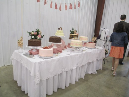 Cake Table | Mrs. Fancee