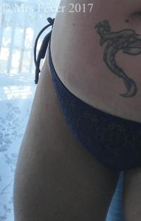 black bikini bathing suit bottoms