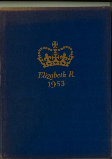 Front cover of the Coronation Souvenir