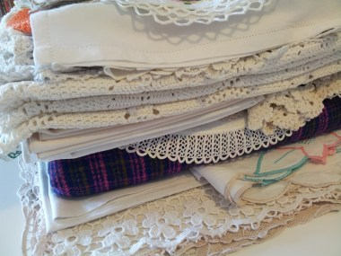 The doily and linen collection