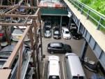 Parking, like everything else in Manhattan, is often vertical.