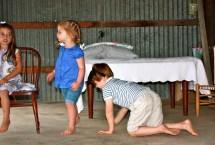 Barefoot in School Play