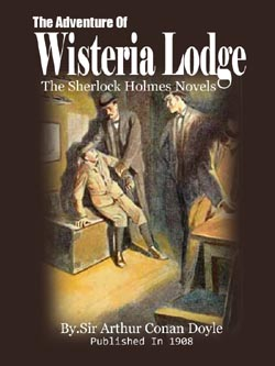 Book 13 The Adventure Of Wisteria Lodge Sir Arthur Conan Doyle Mrs Gwynns Book Club