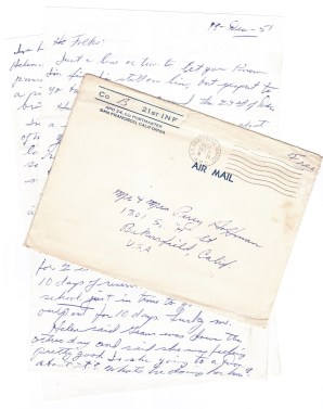 Dec 21 1951 Dan to Folks 001