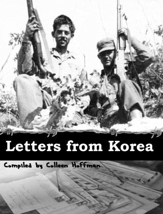 Letters from Korea book cover w barb wire