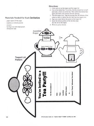 Teapot Invitation A