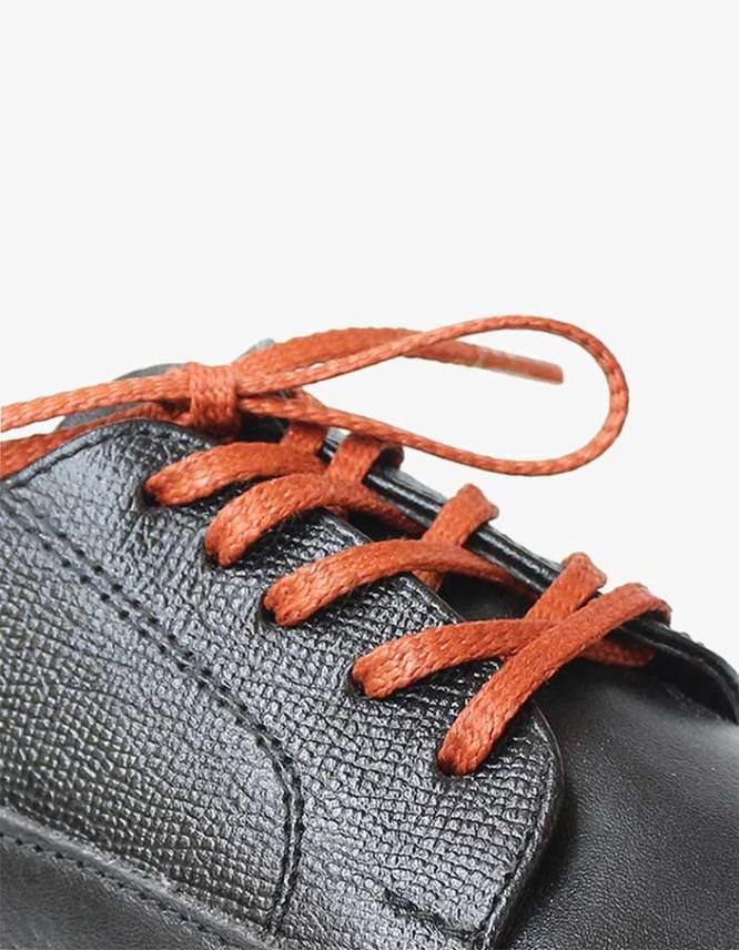 tali-sepatu-lilin-mrshoelaces-thin-flat-ikura-golden-brown