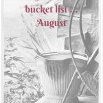 My monthly bucket list – August 2015