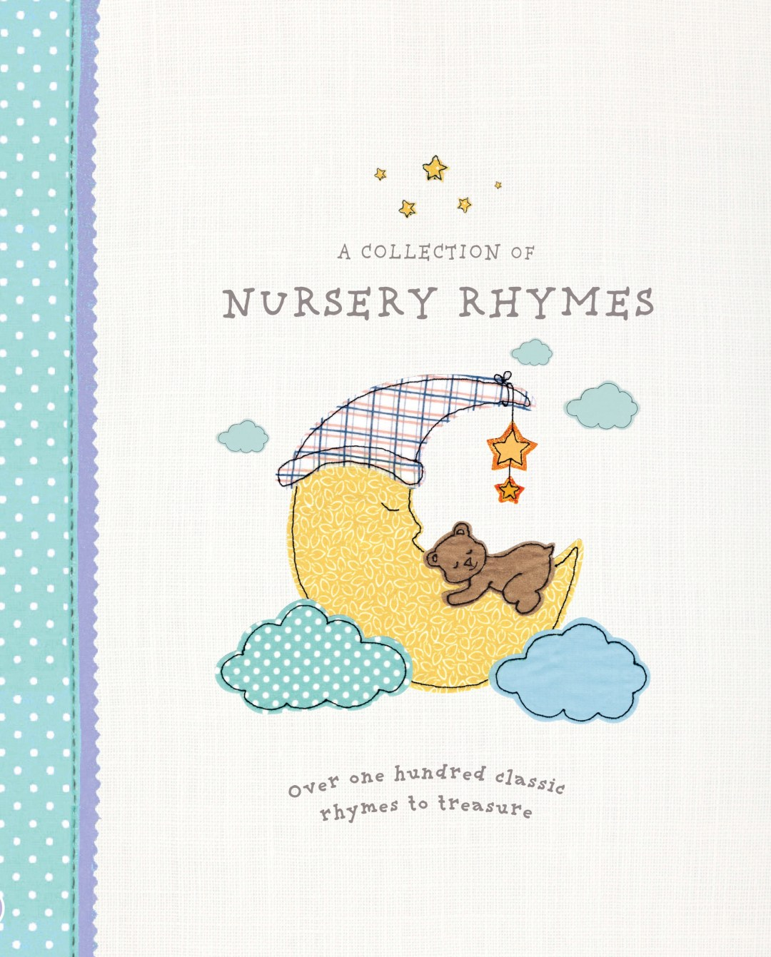 "The cover illustration for ""A Collection of Nursery Rhymes"" by Parragon Books"