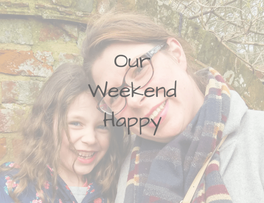 A featured image for the new linky and Instagram Community Our Weekend Happy - Our Weekend Happy Linky - Mrs H's favourite things