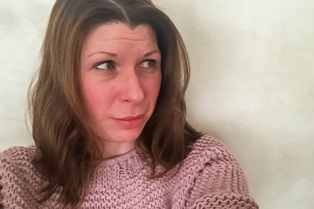 A photograph of a brunette woman looking away from the camera with a slight smile on her face - Antidepressants and Me - My Story of Taking Antidepressants - Mrs H's favourite things