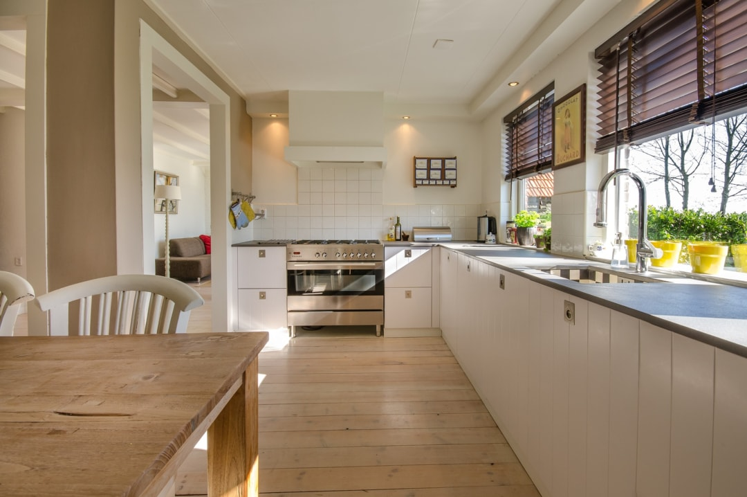 A photograph of a stylish kitchen in a family home - Give Your Home That Wow Factor: Mum Style - Mrs H's favourite things