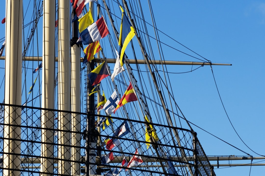 A photograph of the rigging of the SS Great Britain in Bristol - 7 Things To Do in Bristol - Mrs H's favourite things