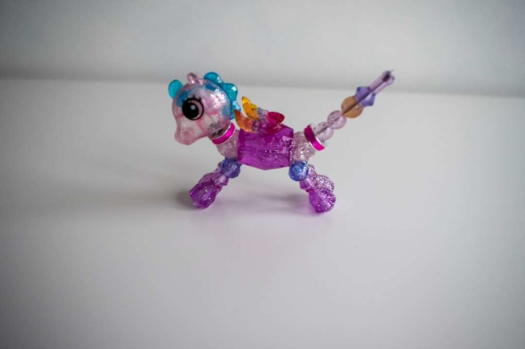 A photograph of the Twisty Petz Sugarstar Flying Pony from the Sugarstar Glitter collection - Twisty Petz CollectAbles From Spin Master - A Review - Mrs H's favourite things