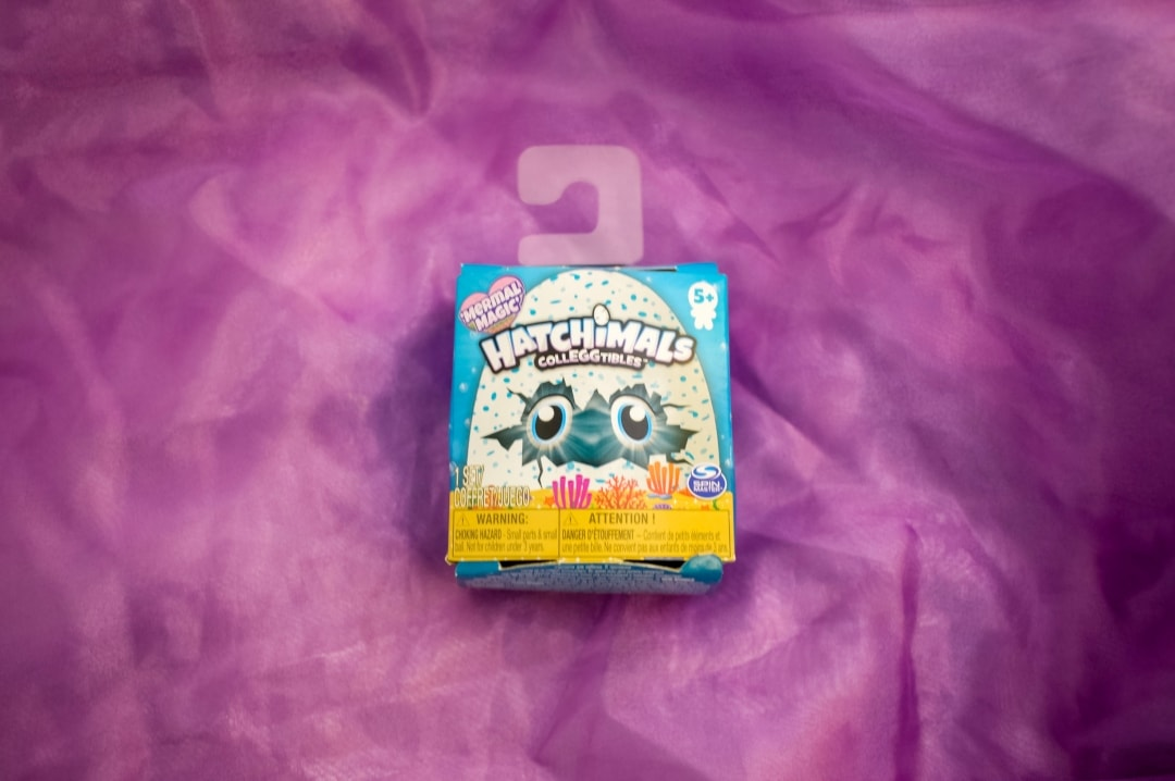 A photograph of a Hatchimals CollEGGtibles Mermal Magic Season 5 1-Pack - Hatchimals CollEGGtibles Mermal Magic Season 5 Review - Mrs H's favourite things