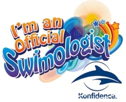 A Konfidence UK Swimologist Ambassador Sticker - Mrs H's favourite things
