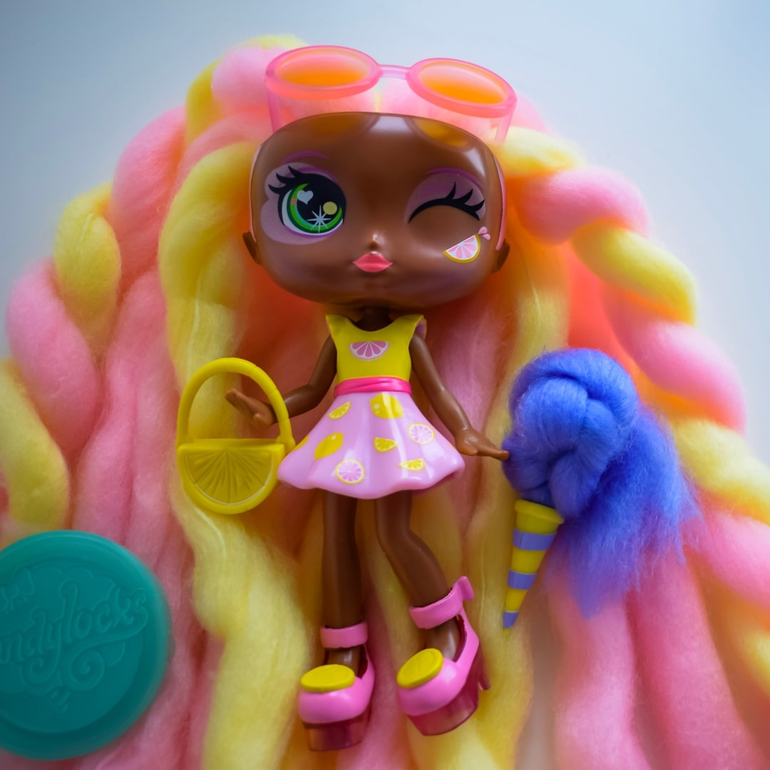 A photograph of Lacey Lemonade, a Candylocks Doll - Introducing Candylocks Doll - A Review - Mrs H's favourite things