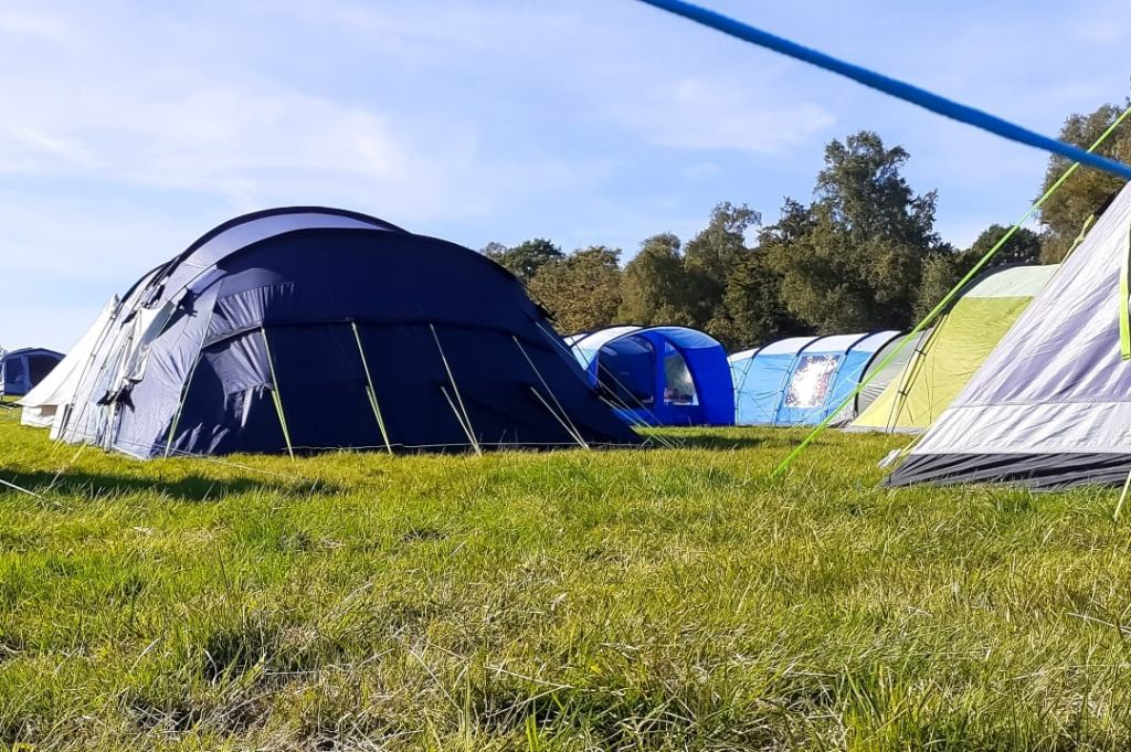A photograph of tents at the Into The Trees festival 2019 - Into The Trees 2019 - An Idyllic Family Festival - Mrs H's favourite things