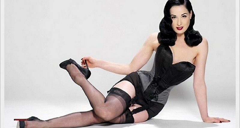 "MH LOOKBOOK: ""VON FOLLIES"" LINGERIE COLLECTION BY DITA VON TEESE"