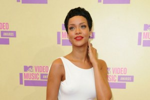 Rihanna at MTV VMA 2012