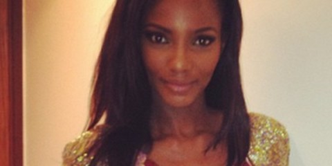 Agbani Darego on her 30th birthday