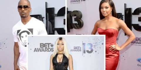 BET Awards 2013 red carpet arrivals