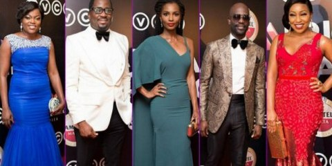 AMVCA 2014 red carpet arrivals