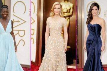Oscars 2014 best dressed ladies