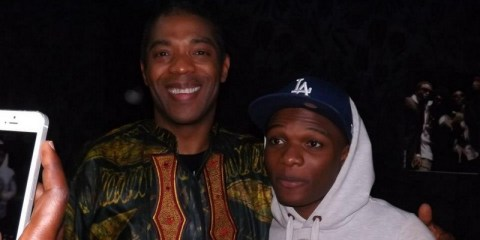 Femi Kuti and Wizkid