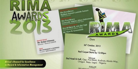 RIMA Awards 2013