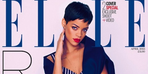 Rihanna covers Elle UK