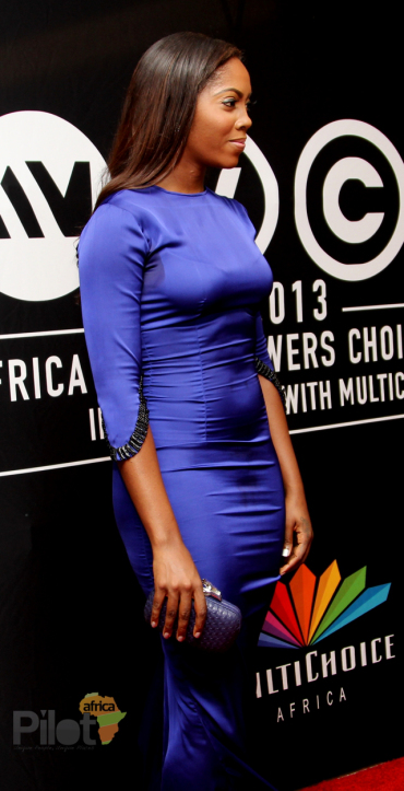 Tiwa Savage at AMVCA 2013