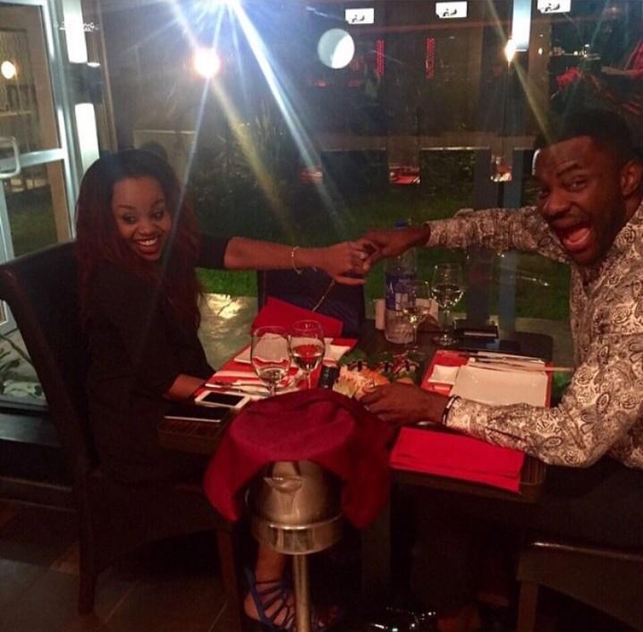 Ebuka Obi-Uchendu engaged