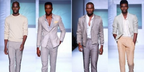Kelechi Odu collection at LFDW 2012