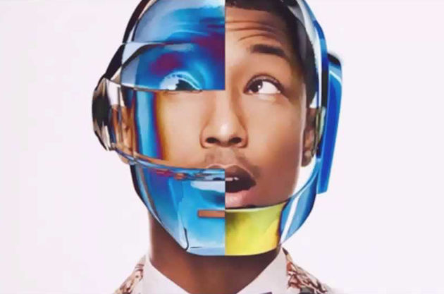 Pharrell Williams in Madonna Give It 2 Me video