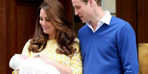 kate middleton and prince william introduce royal baby princess
