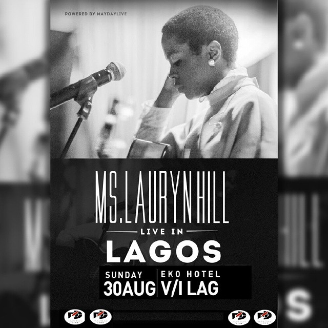 Lauryn Hill & Her 20 Man Live Band Set To Electrify Lagos With Reloaded Concert On The 30th Of August