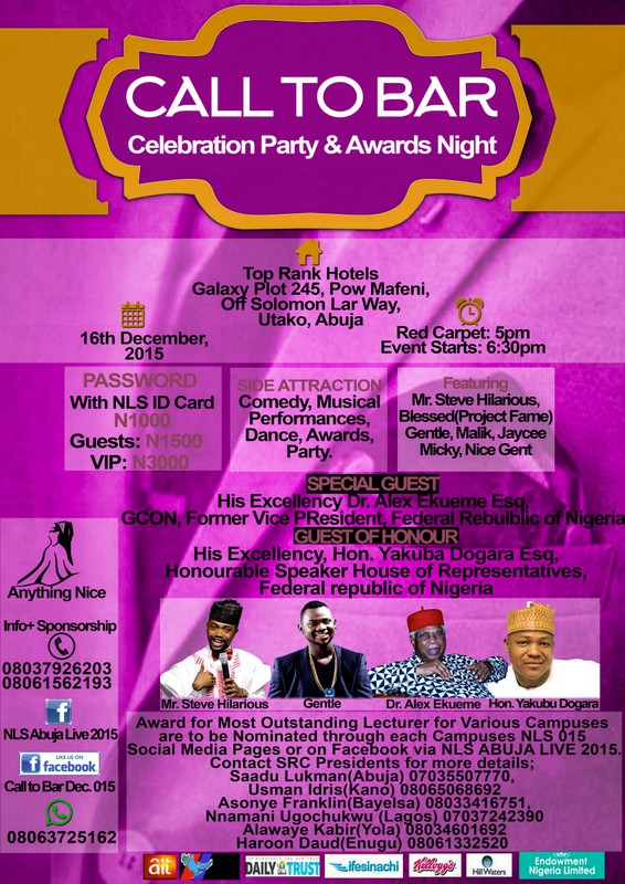 Call To Bar Celebration Party And Award Night