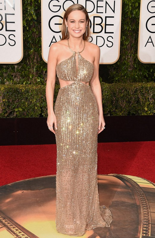 Brie Larson at Golden Globe Awards 2016